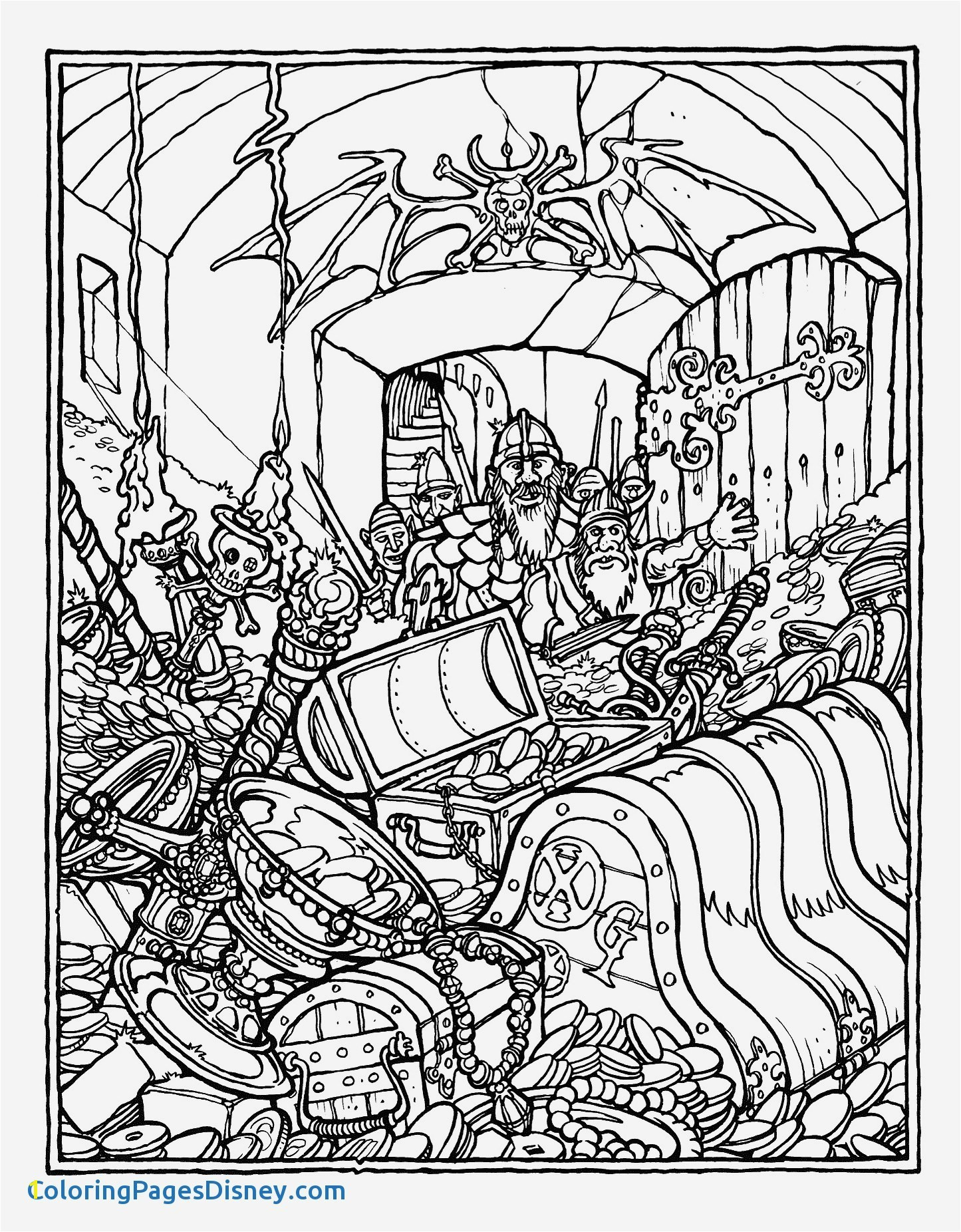 Dungeons and Dragons Coloring Pages Beautiful Printable Advanced Coloring Pages Fresh Monster Brains the Ficial
