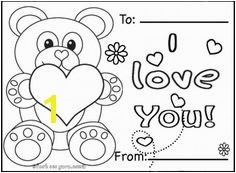 Free printable valentines day cards teddy bears coloring pages i love you cardee online printable happy valentines day card ideas coloring in