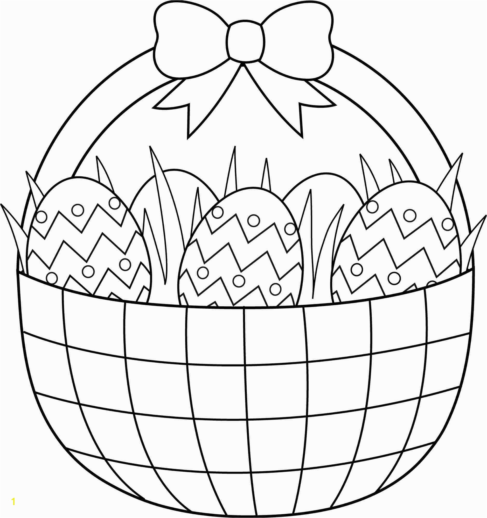 easter basket coloring sheet easter drawing for kids at drawings easter drawing for kids at drawings from easter egg coloring pages