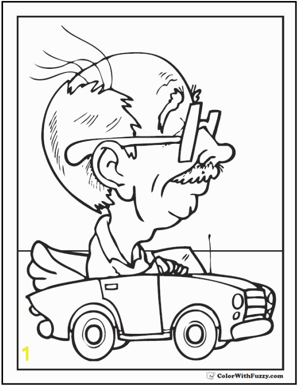 Granddad likes Father s Day too FathersDayColoringPages and KidsColoringPages at ColorWithFuzzy Grandpa