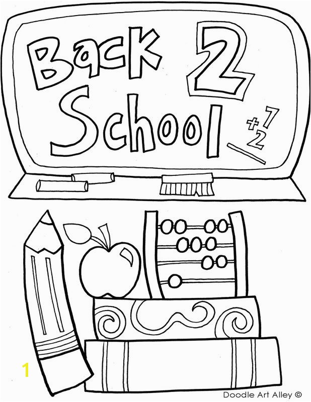 Wel e Back to School Coloring Pages 2 Free 103 Best Classroom Doodles Pinterest