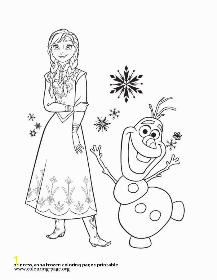 Free Printable Frozen Coloring Pages 26 Princess Anna Frozen Coloring Pages Printable