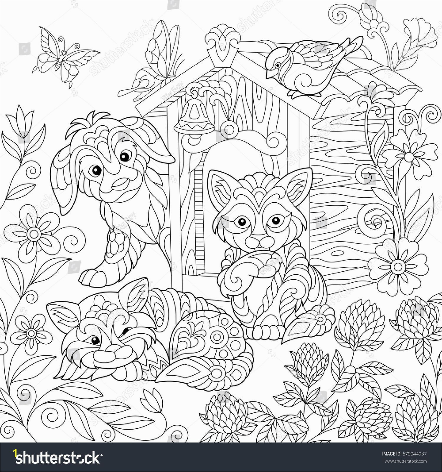 Printable Coloring Pages Coloring Book Unique Best Od Dog Coloring Pages Free