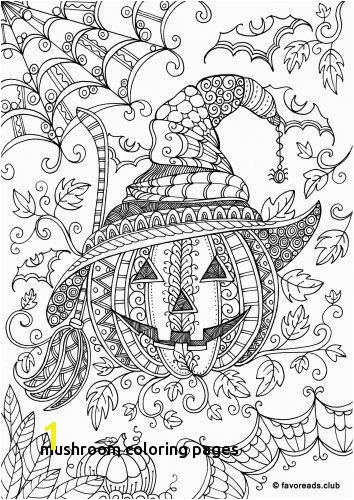 Free Printable Mushroom Coloring Pages Mushroom Coloring Pages the Best Free Adult Coloring Book Pages for