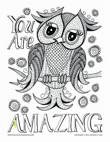 Beautiful Valentine Owl Coloring Owl Coloring Page Printable Owl Coloring Pages Elegant Free Coloring