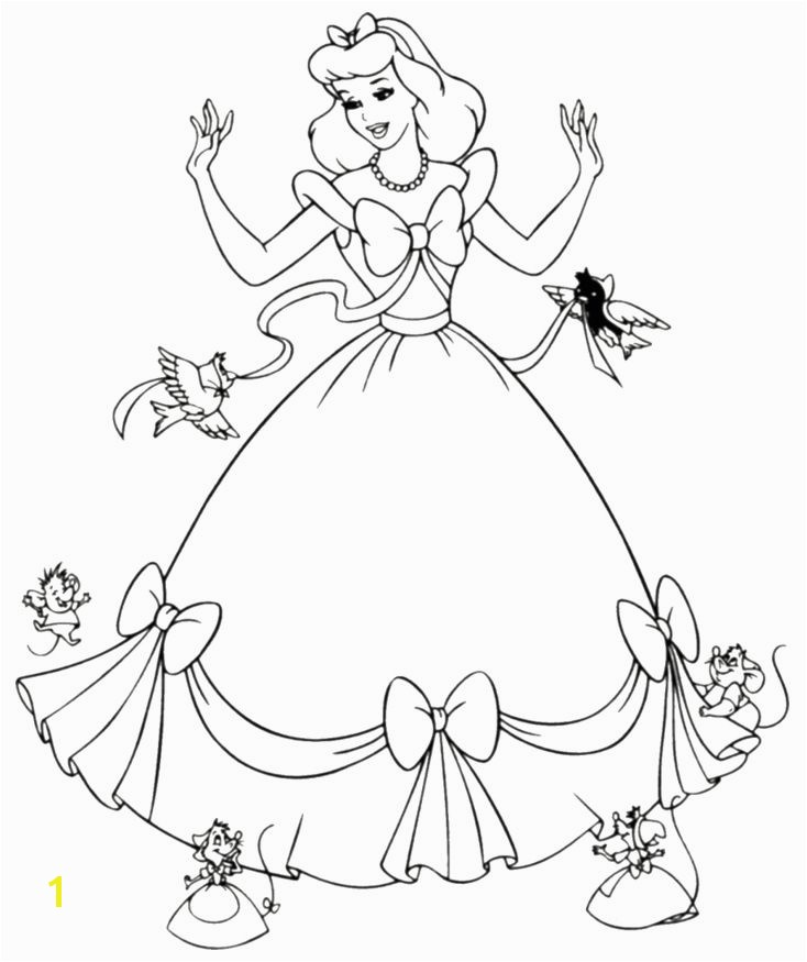 Free Printable Cinderella Coloring Pages For Kids Arts & Crafts Pinterest