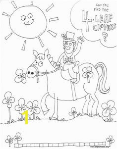 Coloring Page for St Patrick s Day
