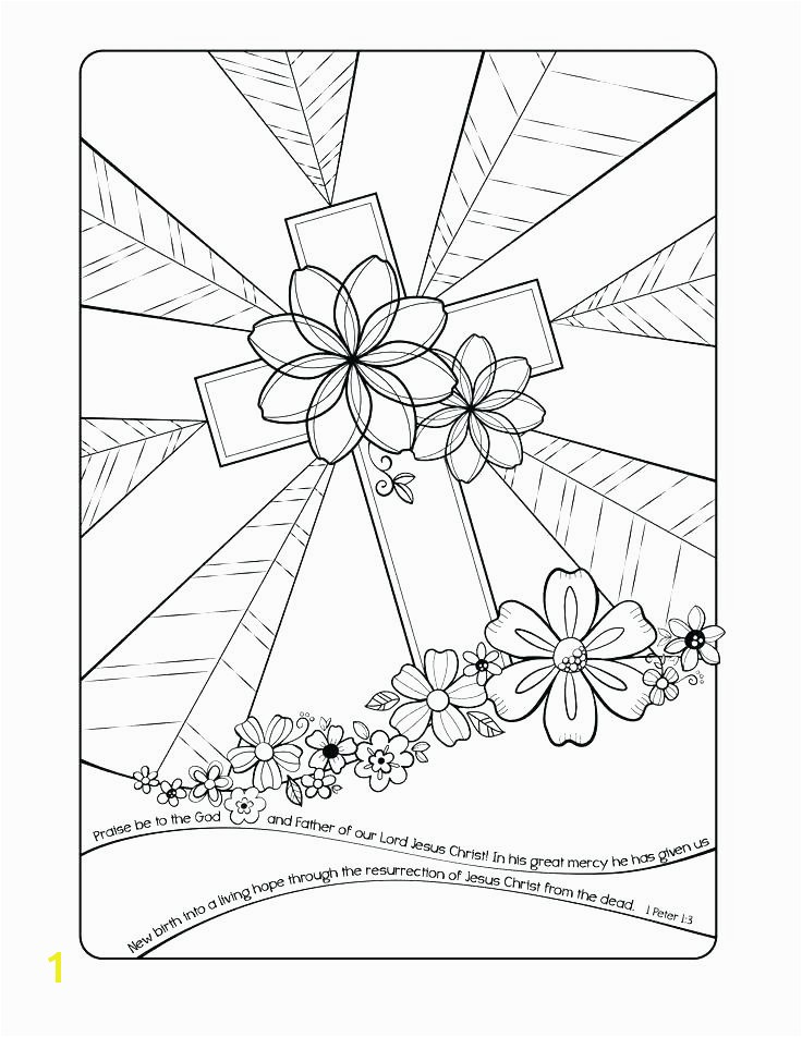 Free Bible Easter Coloring Pages Printable Kids Colori Preschool