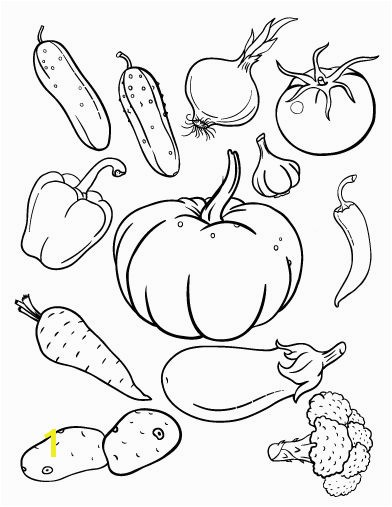 Coloring Pages Fruits and Ve ables for Kids New Fruit and Ve Ables Coloring Sheet Coloring