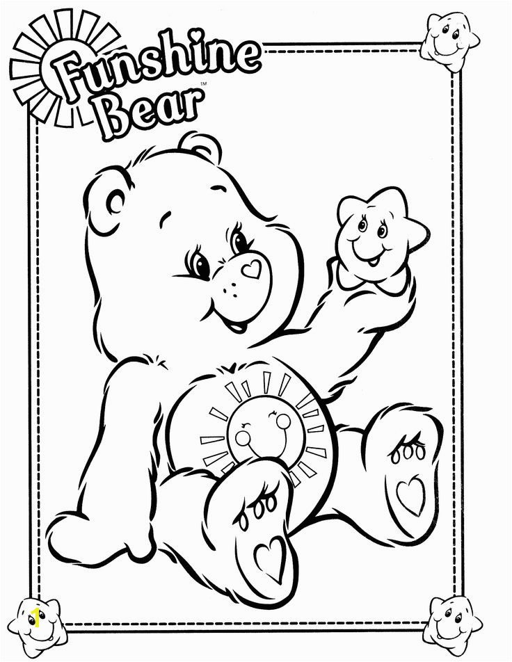243 Best Care Bears Coloring Sheets Pinterest Bear Coloring Pages