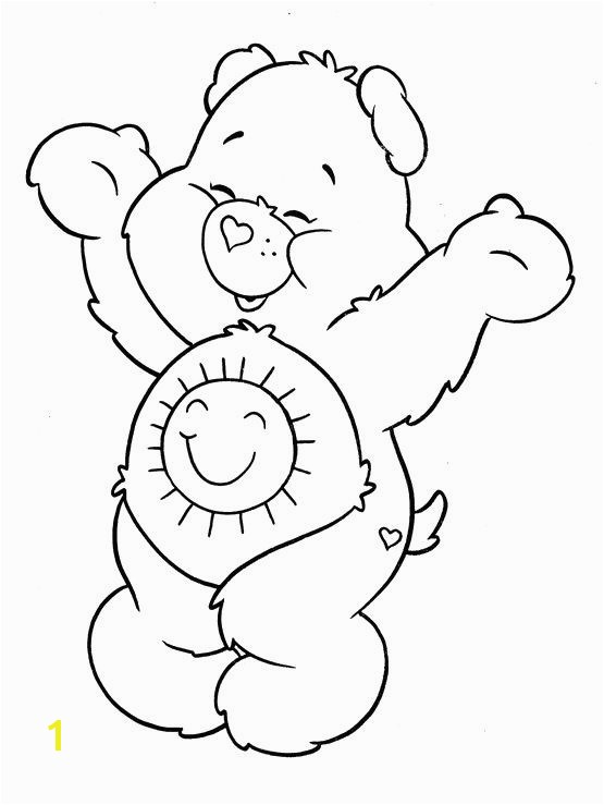 Care Bear Coloring Pages 299 Best Care Bears Coloring Pages Pinterest