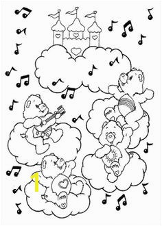A Concert Music Care Bear Coloring Pages Care Bears Coloring Pages KidsDrawing – Free Coloring Pages line