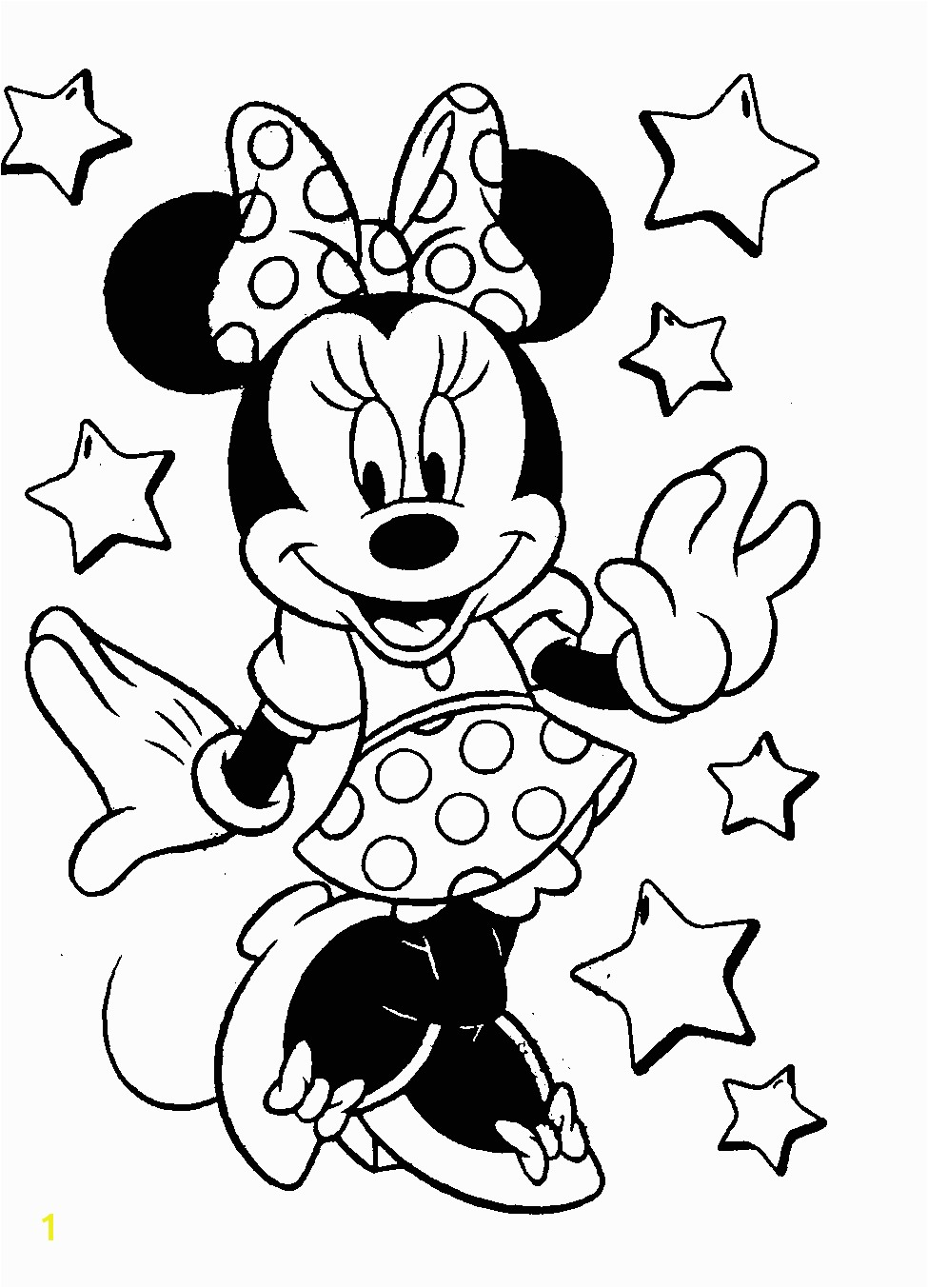 minnie mouse coloring pages 13y free disney coloring pages all in one place much faster than google imaging line drawings for each one