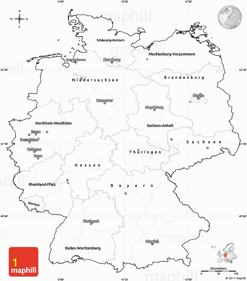Interesting Germany Map Printable Coloring To Funny Germany Printable Blank Maps Outline Maps Royalty Free Template