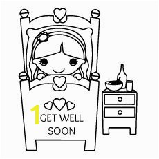 Top Free Printable Get Well Soon Coloring Pages