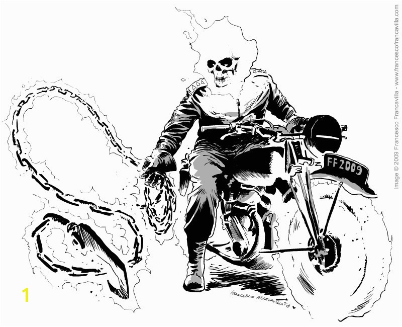 Ghost Rider Coloring Pages Best Free Printable Ghost Rider Coloring Pages Genkilifefo