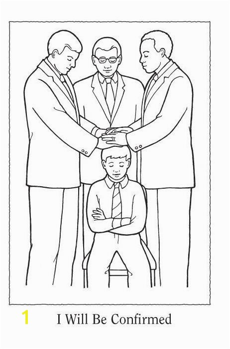 Lds Coloring Pages Gift The Holy Ghost 10