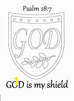 God is My Shield Coloring Page God Helped Deborah Lead the People Coloring Page