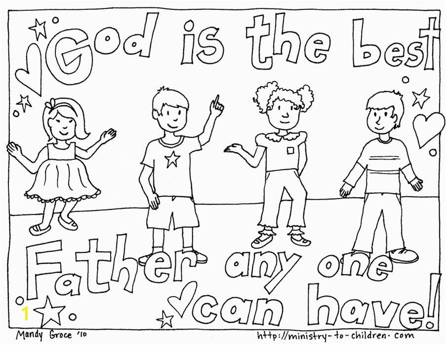 In children s eyes the best father is God