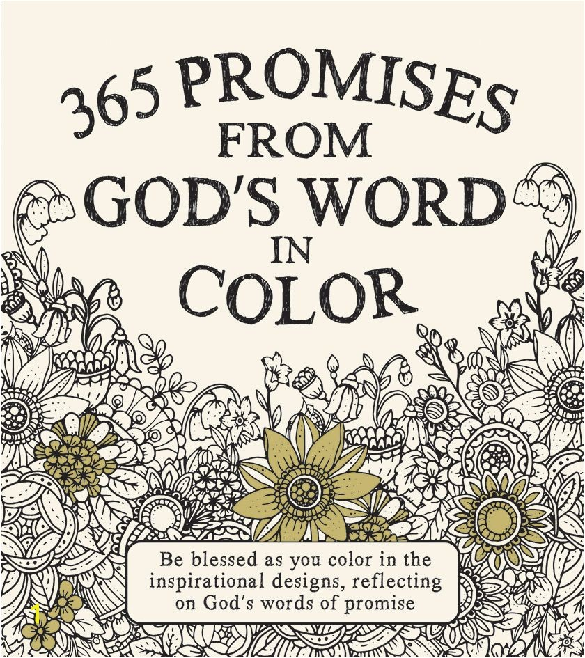 Coloring book 365 promises from God s word in Color