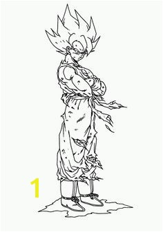 goku super saiyan 2 coloring pages located in GOKU Category Free Printable goku super saiyan 2 coloring pages for kids