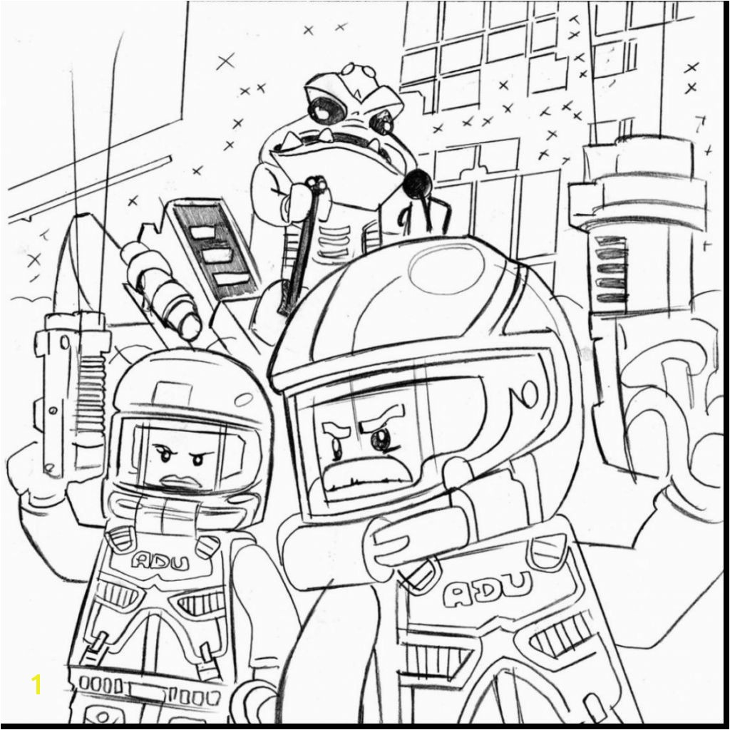 Download New Lego City Coloring Pages