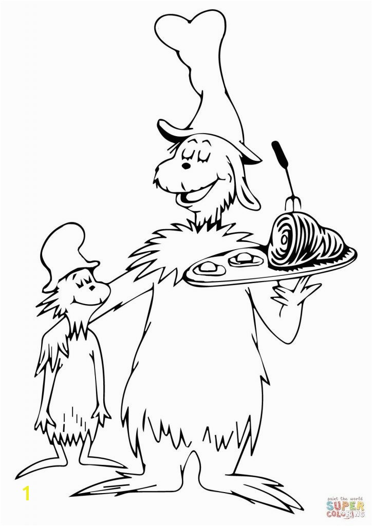 Green Eggs and Ham by Dr Seuss Coloring Pages Luxury Yolk Coloring Page Green Eggs and Ham Young Womens Pinterest