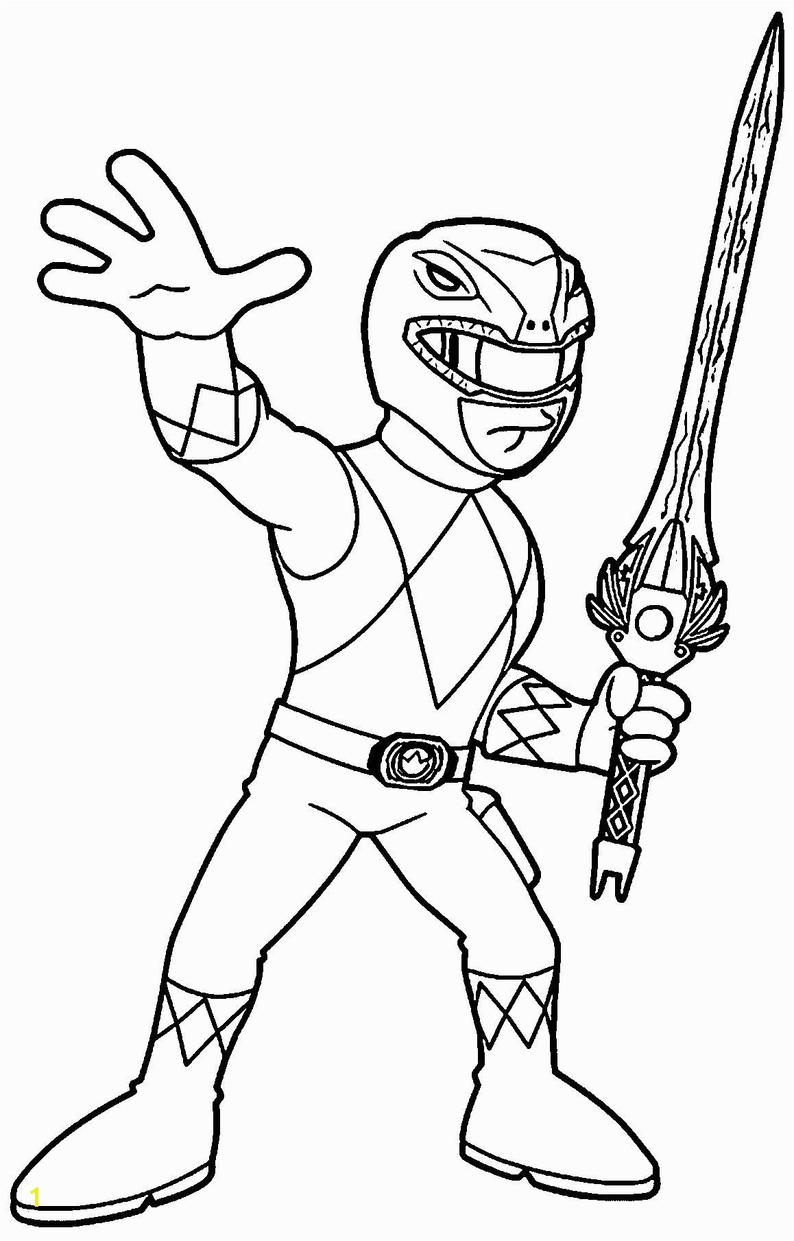 Green Power Ranger Coloring Pages Green Power Ranger Coloring Page Power Ranger Coloring Pages Nice