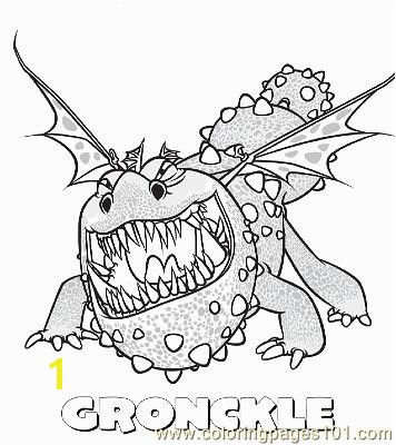 Gronckle Coloring Pages Gronckle Coloring Page Free How to Train Your Dragon Coloring Dragon