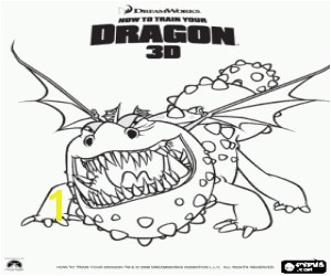 The Gronckle dragons coloring page
