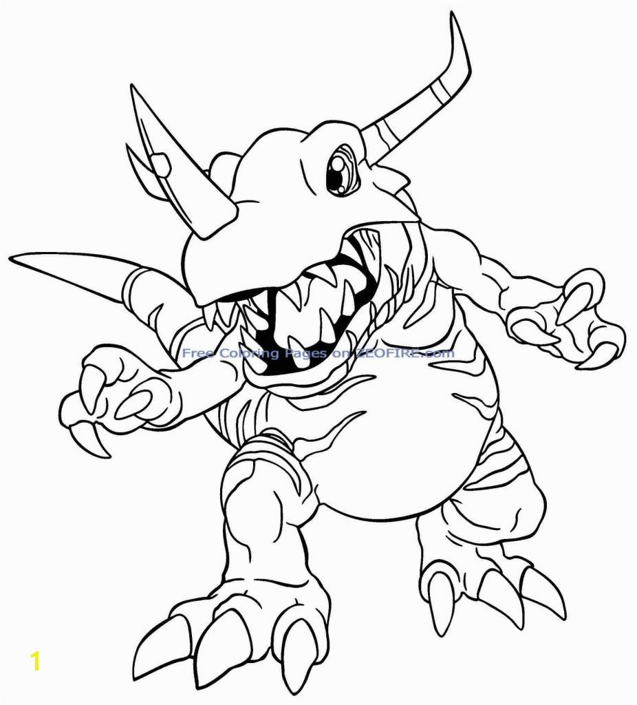 14 Best Guilmon Coloring Pages Gallery