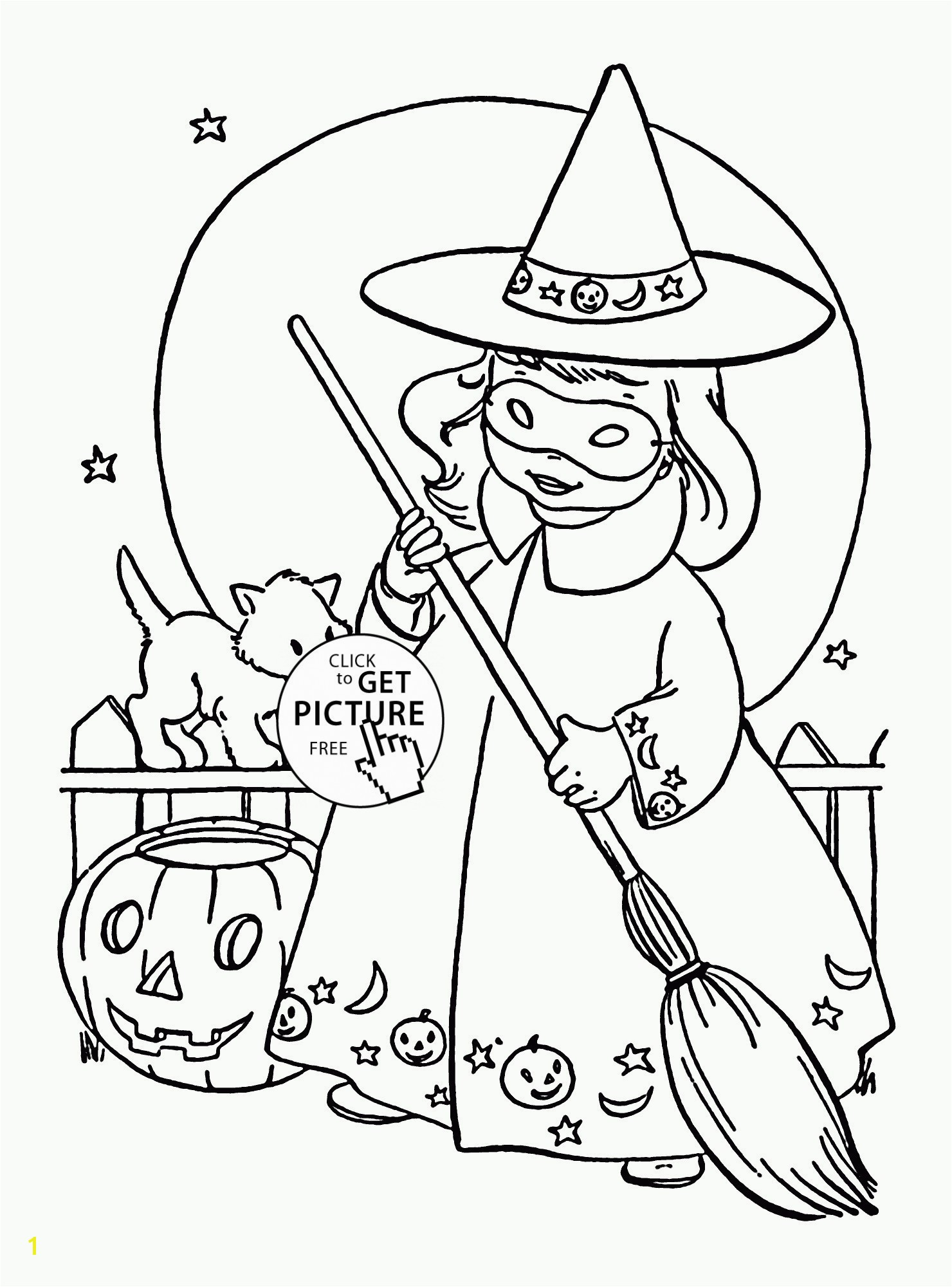 Cool Coloring Page Unique Witch Pages New Crayola 0d Best Cathalloween Witch Coloring Pages Beautiful Halloween
