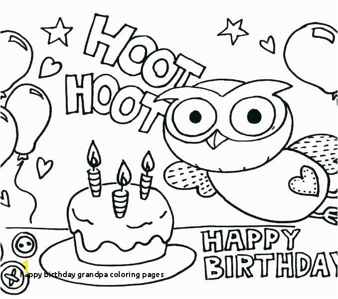 Happy Birthday Coloring Page Birthday Coloring Pages Happy Birthday
