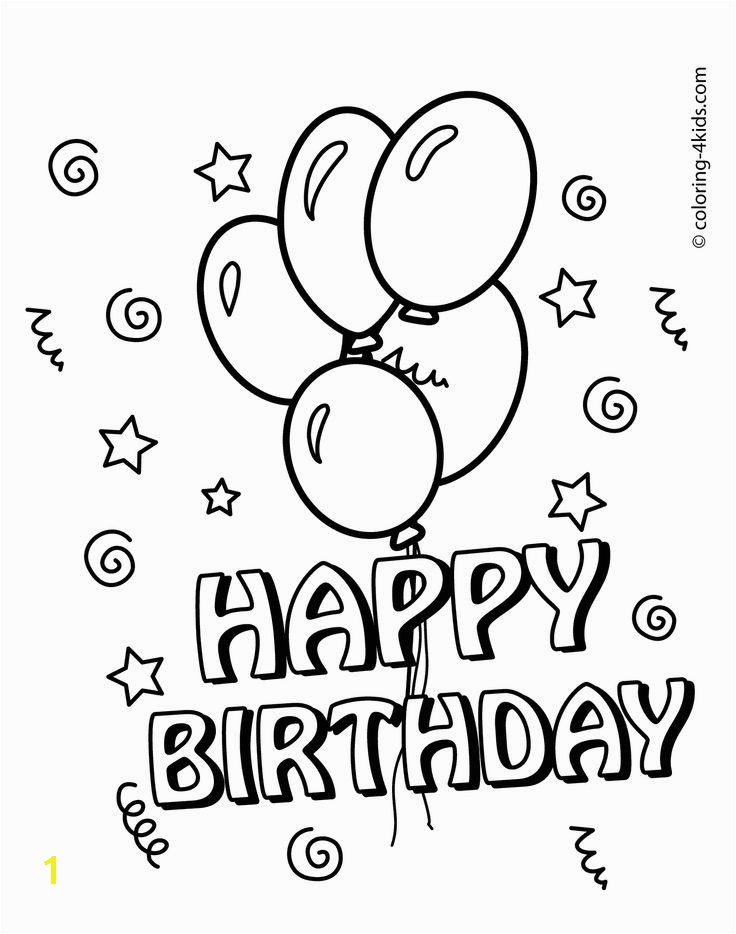 Happy 5th Birthday Coloring Pages Happy Coloring Pages at Getcolorings