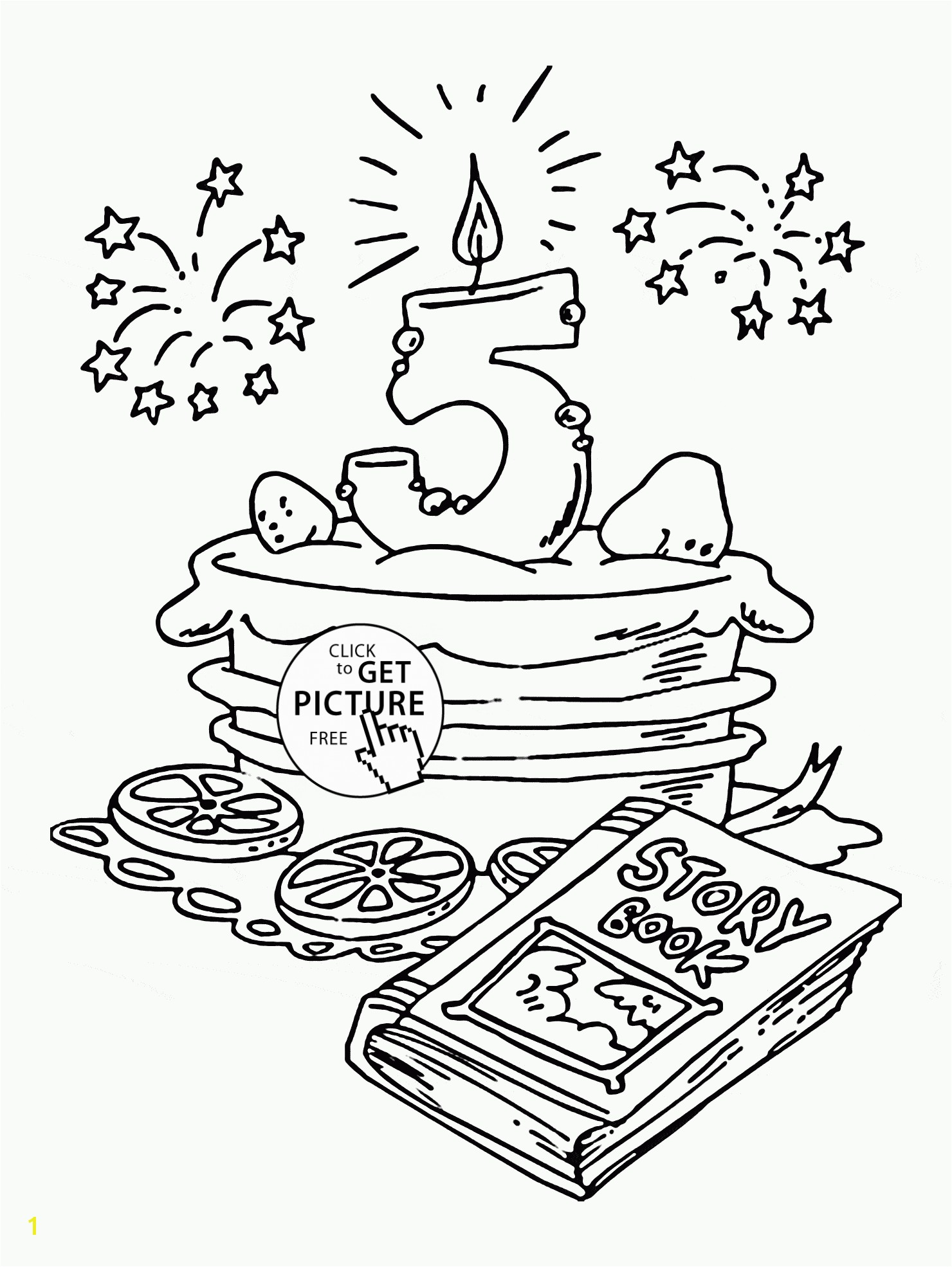 Happy 5th Birthday Coloring Pages Jordan Coloring Sheets