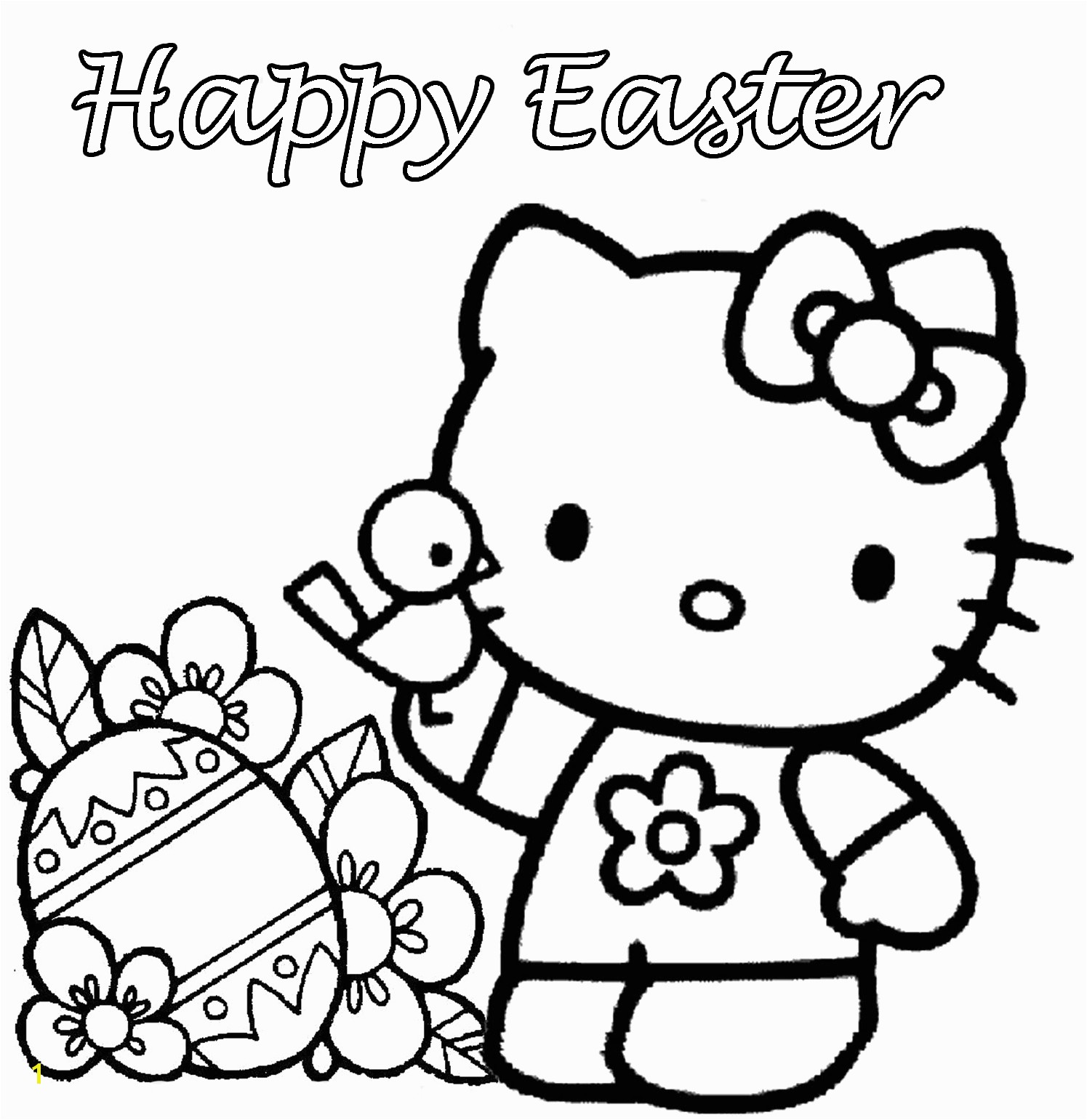 Free Coloring Pages For Easter Printable Ethicstechorg