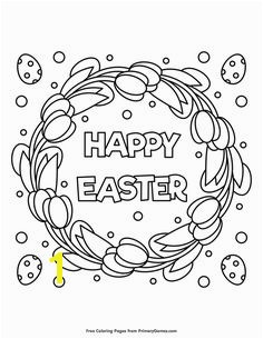 Easter Coloring Pages eBook Happy Easter