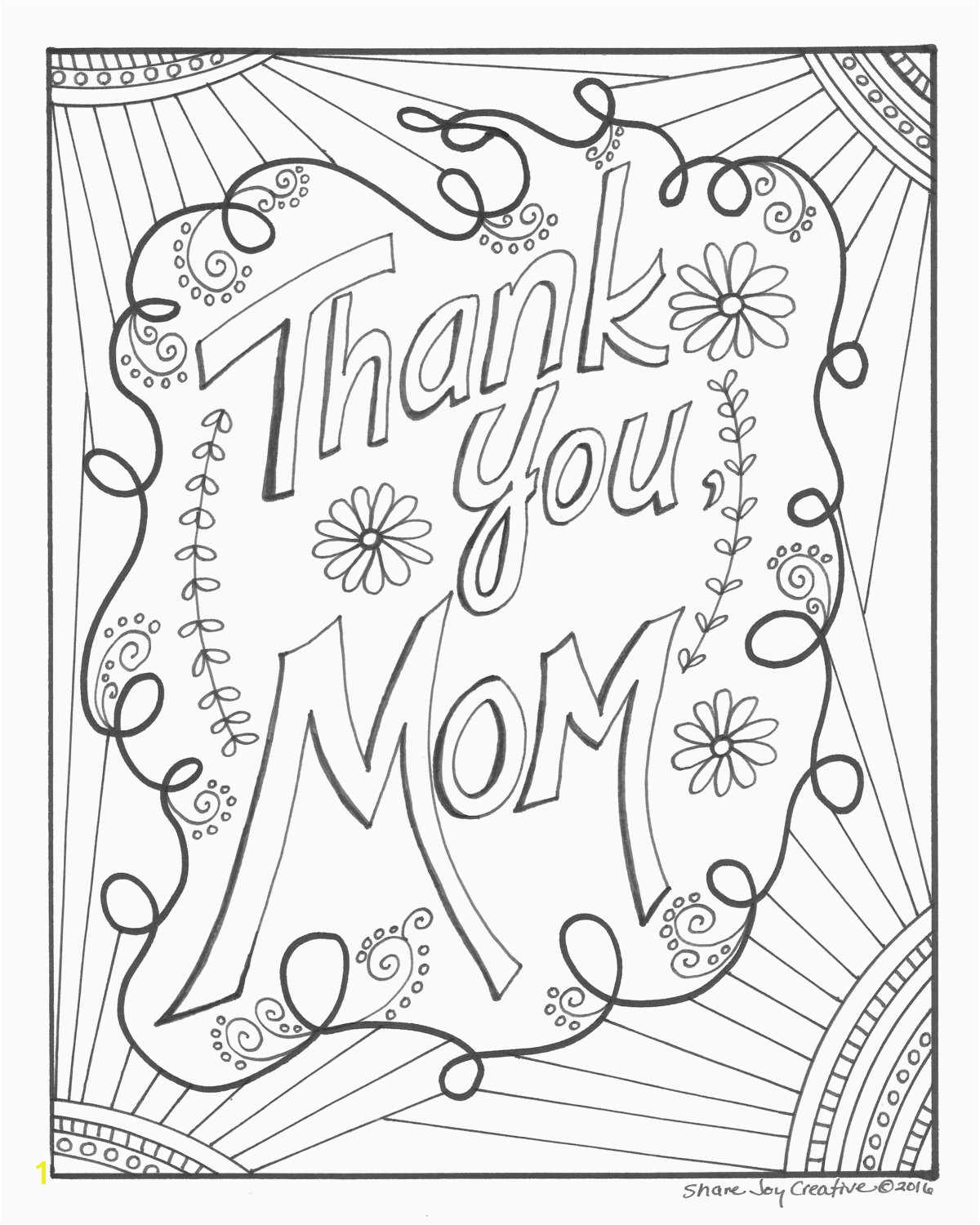 Happy Mother S Day Free Coloring Page Printable for Kids Cool Coloring Page Unique Witch