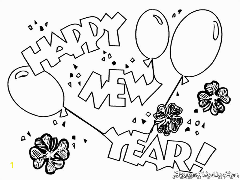 new year 2016 worksheets kindergarten 4