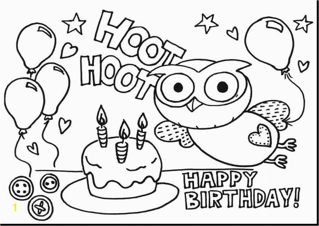 Printable Coloring Book For Kids Beautiful 25 Free Printable Happyhappy Birthday Coloring Pages Free