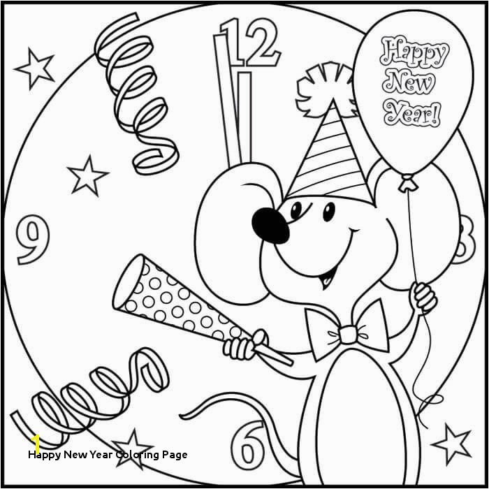 Happy New Year Coloring Page End Year Coloring Pages Inspirational Wau Coloring Page Coloring