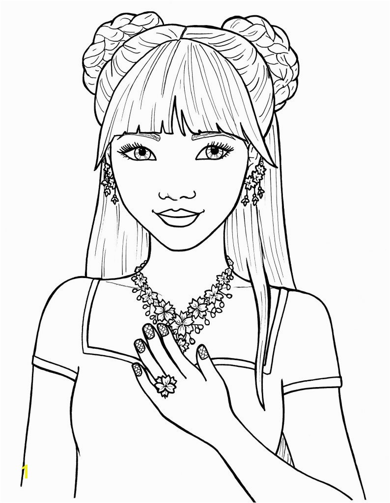 Sampler Coloring Pages Girls Amazing Girl Colouring Pretty Free