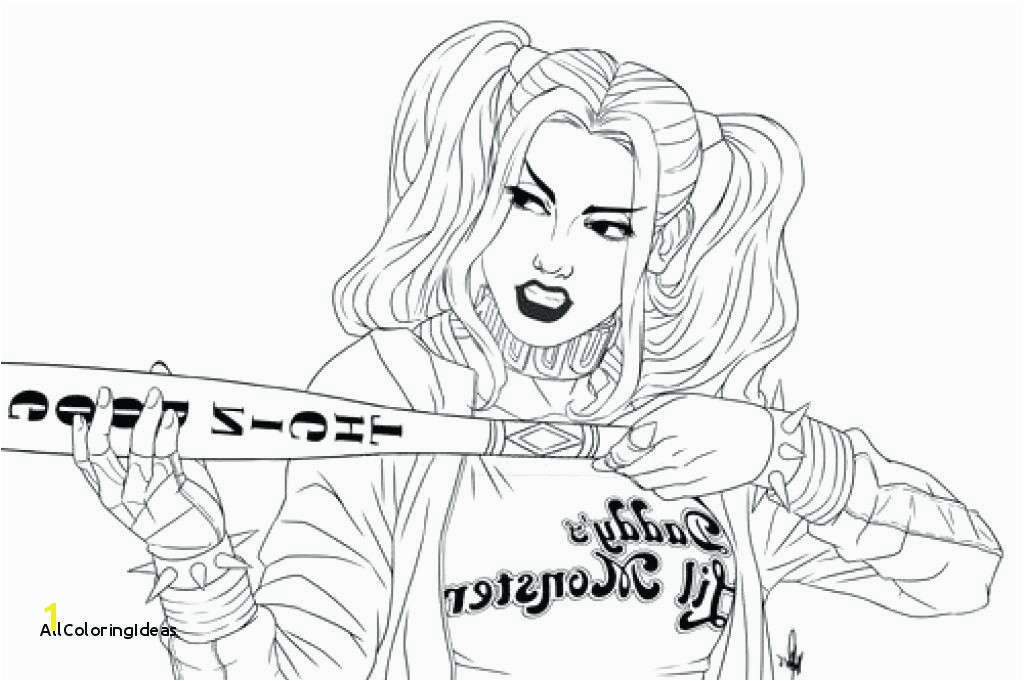Harley Quinn Coloring Pages Lovely Joker Coloring Pages Free Unique Harley Quinn Coloring Pages Harley
