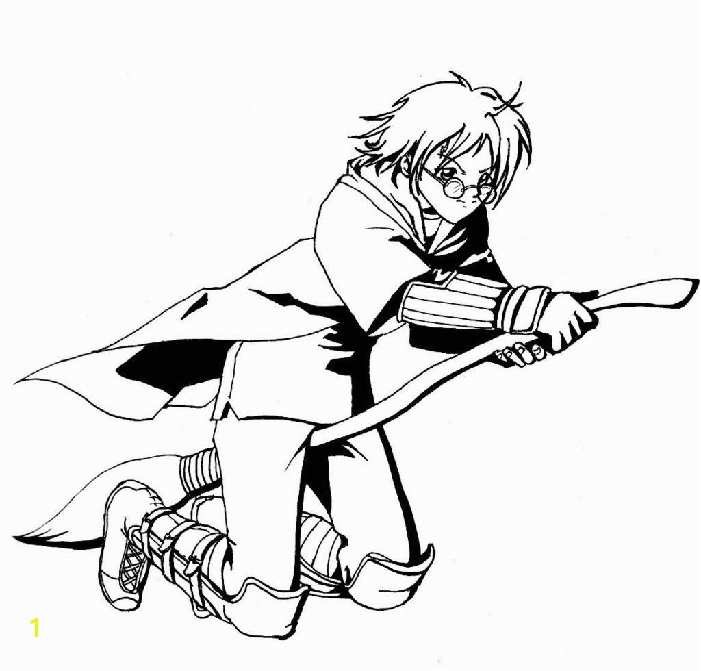 Coloring Detail Name harry potter coloring pages quidditch – Harry Potter Coloring Pages Quidditch Studying