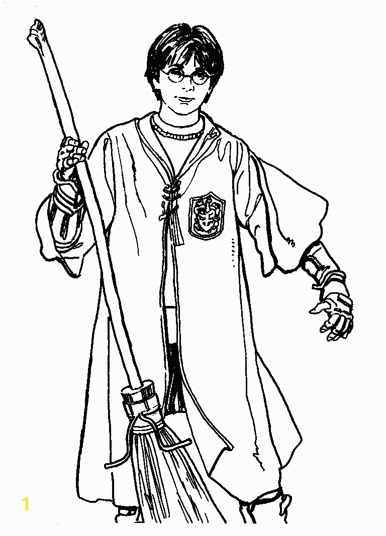 Harry Potter Free Printable Harry Potter Coloring Pages For Kids
