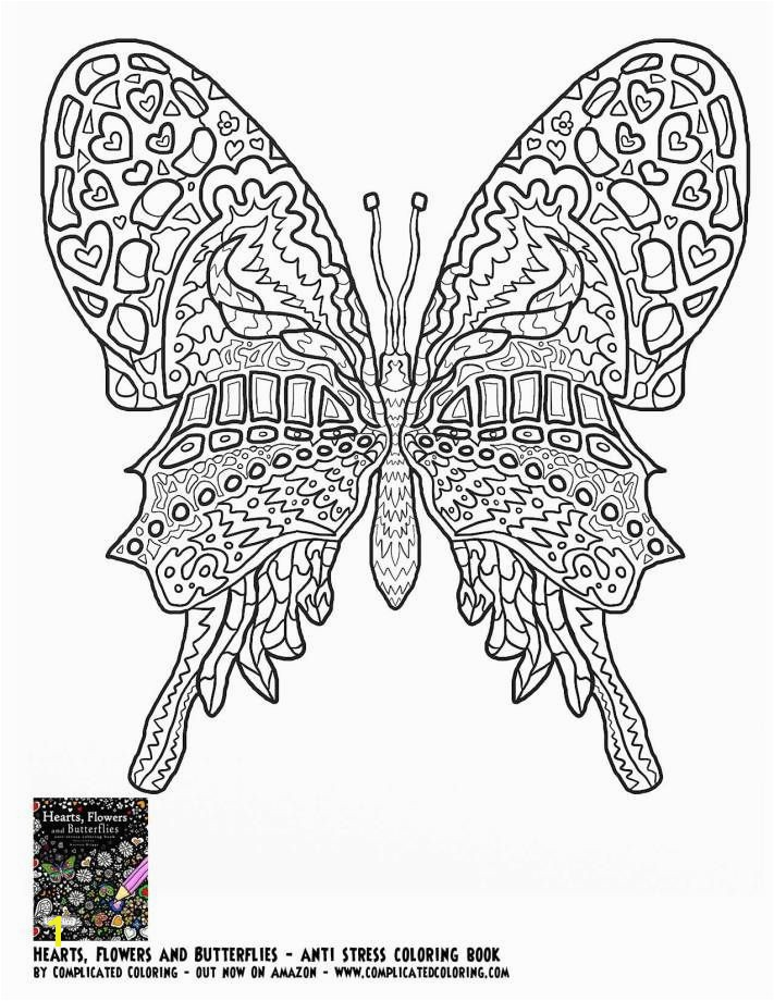 Coloring Pages for Kids butterflies Free Printable Coloring Page Plicated Coloring