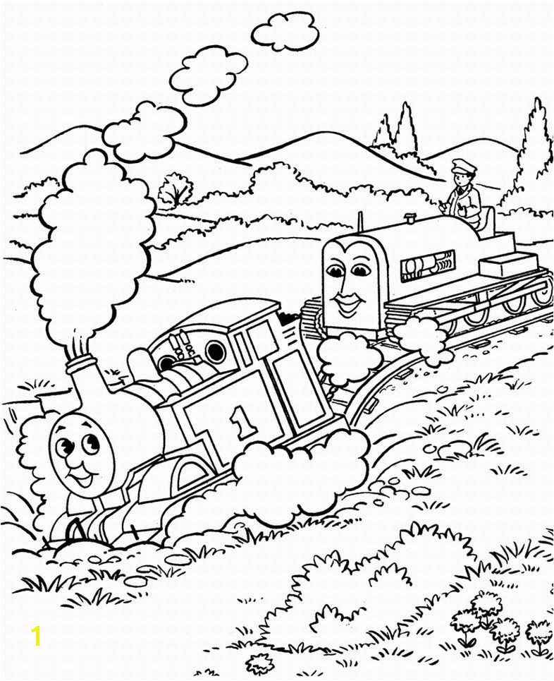 786x965 Thomas the Tank Engine Coloring Pages 6