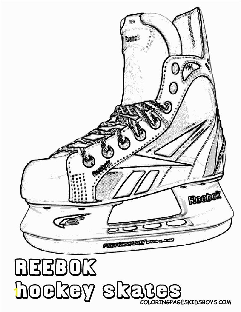 Ice Hockey Skate Drawings