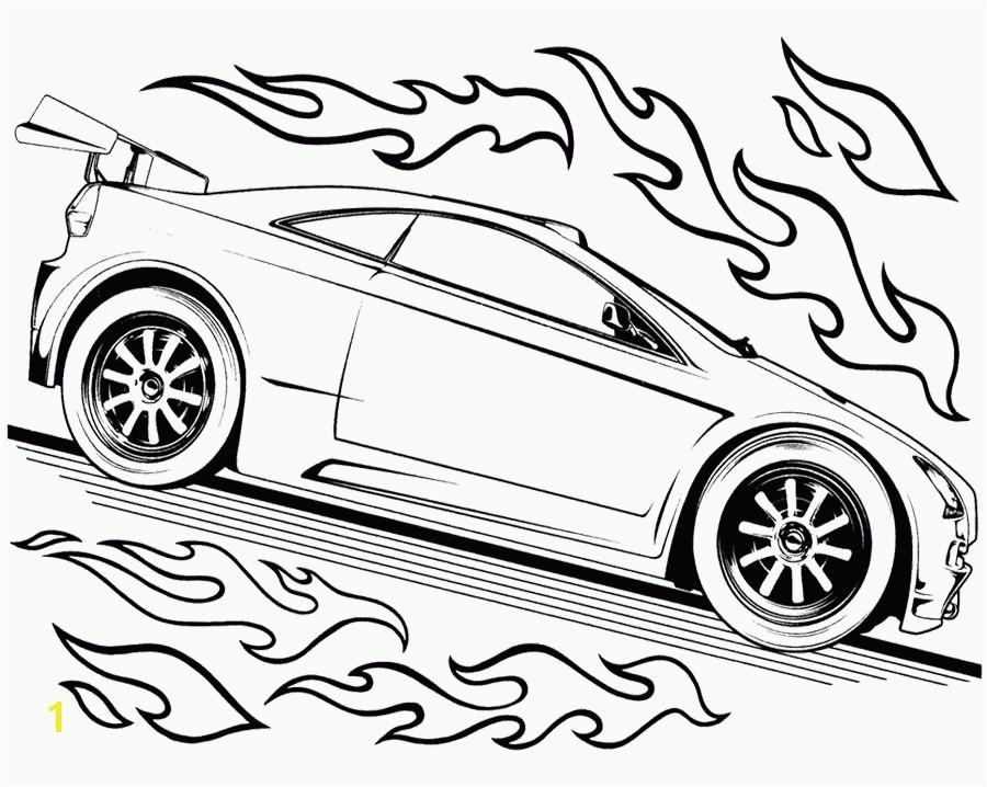 Hot Wheels Cars Coloring Pages Hot Wheels Car Drawing At Getdrawings