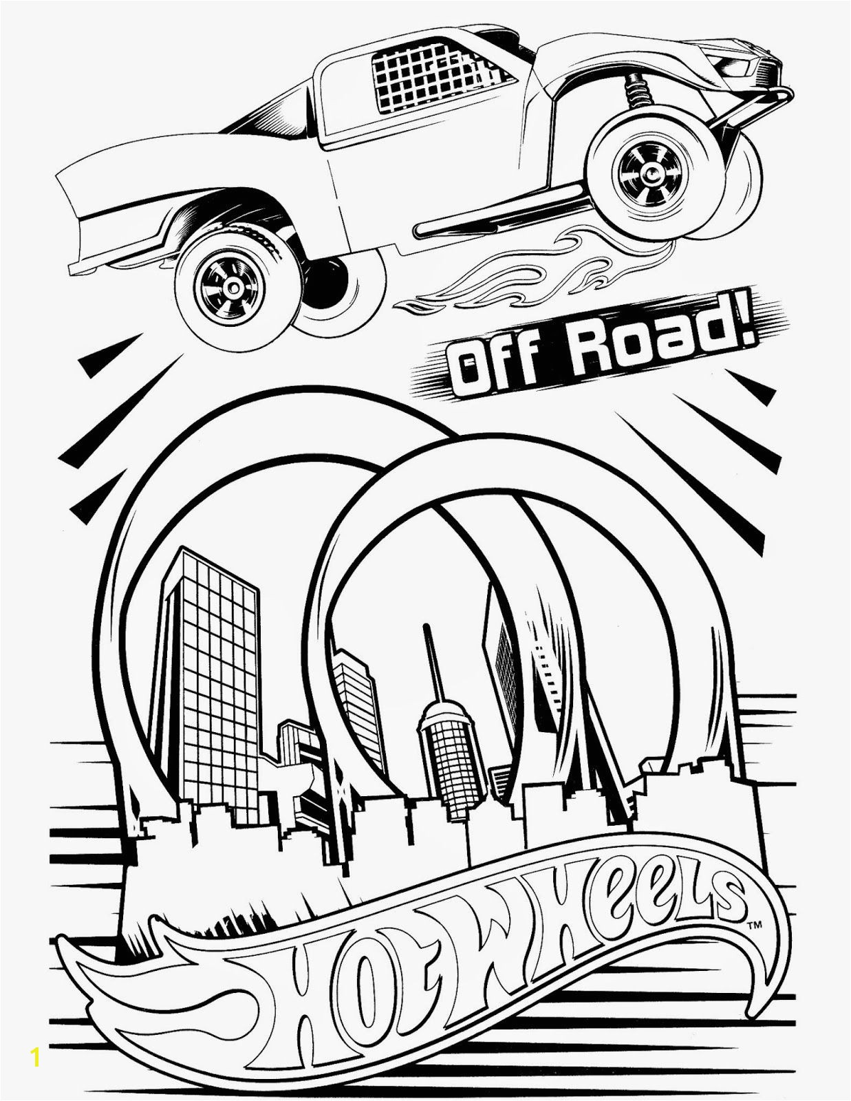 Hot Wheels Coloring Pages Set 5 A huge collection of Hot Wheels coloring pages hotwheels coloringpages